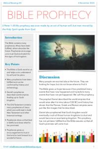 BB#4 Bible Prophecy